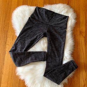 Lululemon Leggings Wunder Under Tweed Gray Size 10